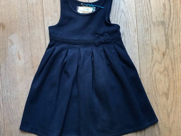 Selling with online payment: Age 4-5, M&S, Navy, Pinafore Dress