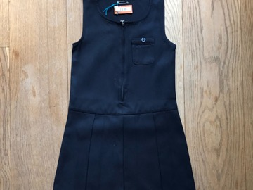 Selling with online payment: Age 5-6, Lily & Dan, Navy, Pinafore Dress