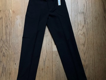Selling with online payment: Age 9-10, M&S, Black, Trousers