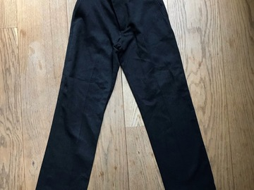 Selling with online payment: Age 8-9, George, Black, Trousers