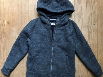 Selling with online payment: Age 8, Next, Navy, Fleece