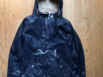 Selling with online payment: Age 10, John Lewis, Navy, Coat