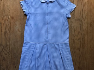 Selling with online payment: Age 12-13, George, Blue, Summer Dress
