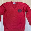"""Selling with online payment: Red crest jumper - 30"""""""