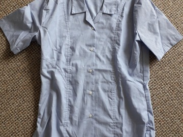 """Selling with online payment: Blue Shirt (Short sleeve 32"""")"""