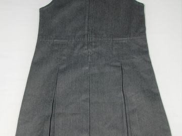 Selling with online payment: Grey Pinafore 7years M&S