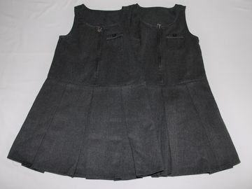 Selling with online payment: Grey Pinafore 5-6years 2 pack