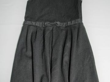 Selling with online payment: Grey Pinafore 7-8years