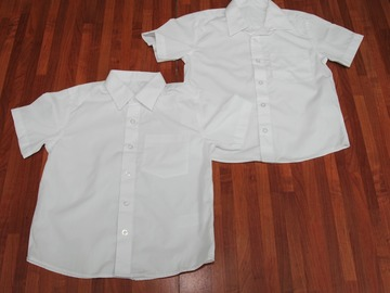 Selling with online payment: White Shirts 4pack 5-6years
