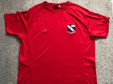 Selling with online payment: Crested Fitness Shirt