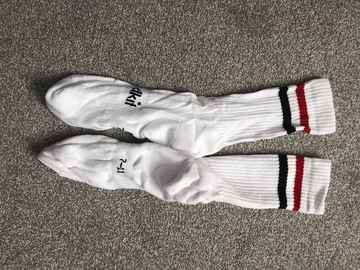 Selling with online payment: White PE Socks