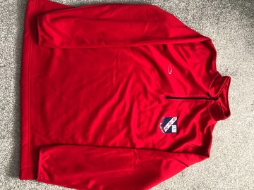 Selling with online payment: Red Crested Midlayer