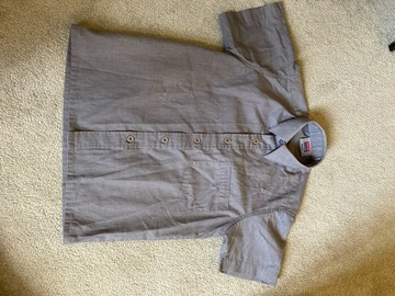 """Selling with online payment: Grey shirt, David Luke Short Sleeved, 12"""""""