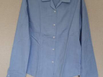 """Selling with online payment: Girls Long sleeved Blue Shirt 34"""""""