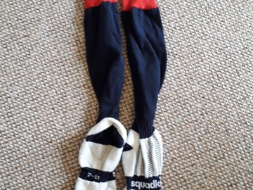 Selling with online payment: Navy PE Socks (Snr) (size 3-6)