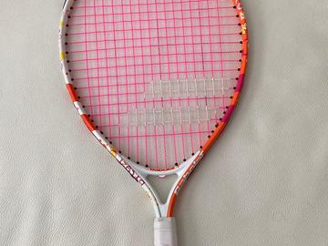 """Selling with online payment: Babolat Butterfly 21"""" Junior Tennis Racket, 6-8 Years"""
