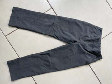 Selling with online payment: 2 Pack M&S Grey Trousers - Age 8-9