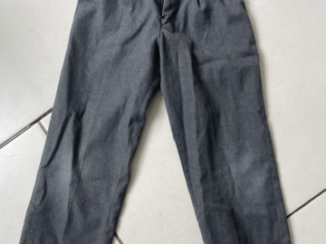 Selling with online payment: Grey Trousers - Age 8-9