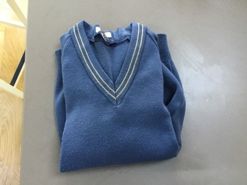 Selling with online payment: Blue Pullover