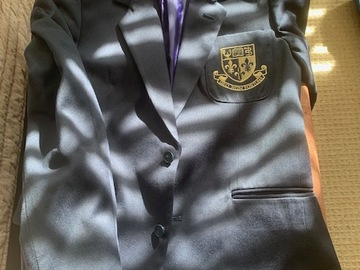 Selling with online payment: Navy Blazer
