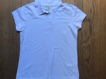 Selling with online payment: Age 10, Smart Start, White, Short-sleeved Polo, Girls