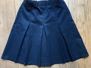 Selling with online payment: Age 8-9, M&S, Navy, Skirt
