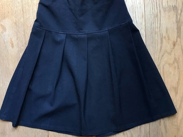 Selling with online payment: Age 10, John Lewis, Navy, Skirt
