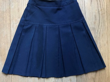 Selling with online payment: Age 7-8, George, Navy, Skirt