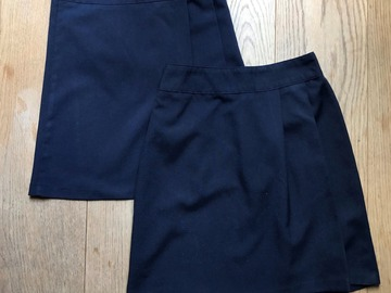 Selling with online payment: Age 10-11, Back to School, Navy, Skirt, x2