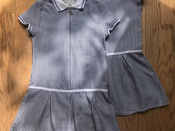 Selling with online payment: Age 5-6, George, Blue, Summer Dress, x2